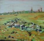 2009 acrylic 28 x 30
