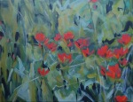 indian paintbrushes tapestry