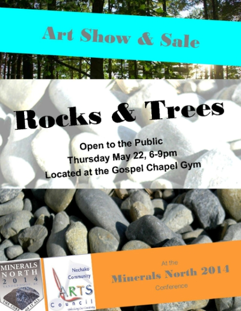rocks and trees poster sm