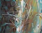 hay bale painting wip