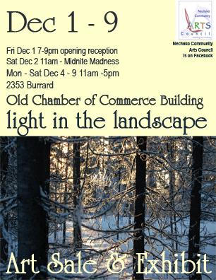 light on the landscape invitation